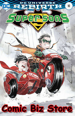 Super Sons #10 (2017) 1St Printing Variant Cover Dc Universe Rebirth