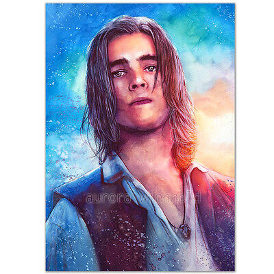 """LIMITIERTER DRUCK """"I'm looking for a pirate"""" PRINT BRENTON THWAITES HENRY POTC 5"""