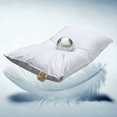 Milano cushion pillow Feather d' goose, 30% Duvet and 70% feather, Made Italy