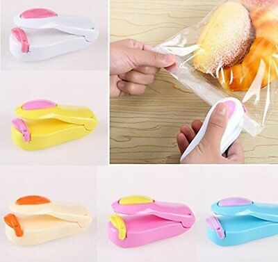 Mini Food Heat Sealing Machine Plastic Portable Impulse Packing Bag Sealer Hot