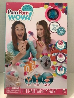 1620 Craft Pack 1000 Googly Eyes Sticky 500 10mm Pom Poms 120 Pipe Cleaners 30cm