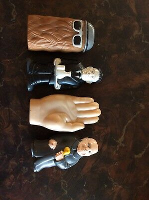 1991 The Addams Family Cereal Prize Flashlights Set of 4