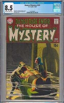 House of Mystery #181 CGC 8.5 VF+ NEW SLAB
