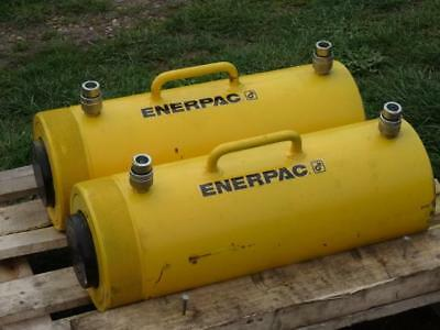 2 x Enerpac 150 Ton Hydraulic Double Acting Cylinder Jack RR15013-OE7