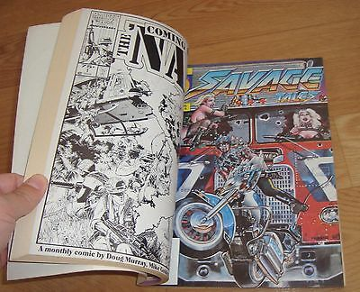 Savage Tales Magazine 4 5 6 7 8 Collected Promo TPB 1986 RARE Marvel Promotional