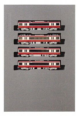 KATO 10-1308 Keikyu Electric Train 2100 Add-On 4-Car Set N-Scale With Tracking