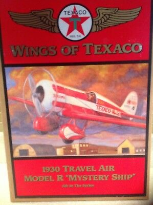 Wings Of Texaco 1930 Travel Air Model R Mystery Ship Airplane  ERTL 1997