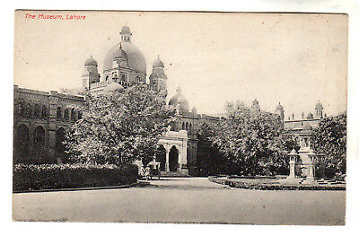 The Museum - Lahore Photo Postcard c1905 / Pakistan