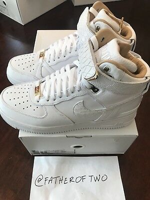 DS Authentic Nike Air Force 1 Hi Just Don C complexcon US 8.5 UK 7.5 Off White