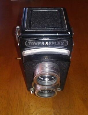 TOWER REFLEX Camera No.4096 Made in Japan Good Condition