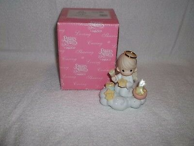 Precious Moments 2001 # 745413 You Add Sparkle To My Life Figurine W/ Box USED
