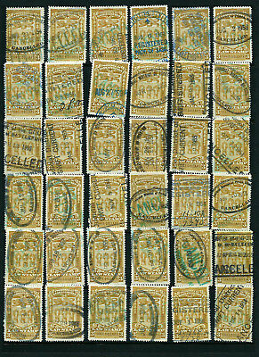 Canada $3 Law Stamps Used Lot #2 Est. Cv $90