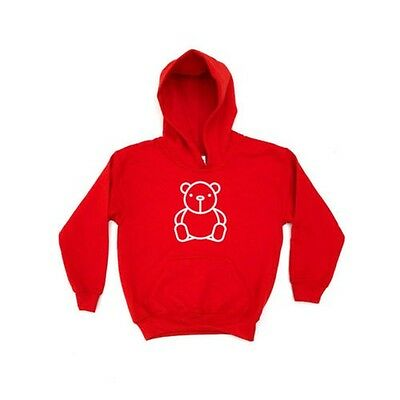Toy Bear KIDS HOODIE Girls Boys Clothing Childrens Cuddly Toy Present Gift