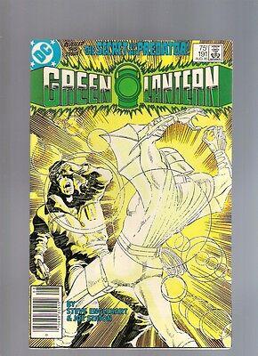 Green Lantern #191 Aug 1985 DC Return Of Star Sapphire Secret Of The Predator