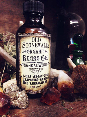 Stonewalls Organic Beard Oil Care & Complete All Natural Tonics - Many Scents