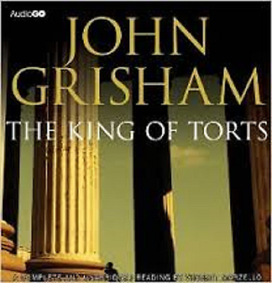 John Grisham,the King Of Tort Unabridged Audiobook 12 X Cd 13 Hours Playing Time