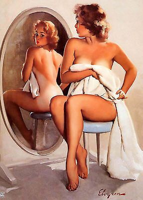 Wall Calendar 2018 [12 pages A4] Pin Up Sexy Girl Elvgren Vintage Pinup M537