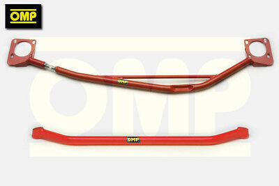 OMP UPPER & LOWER STRUT BRACES PEUGEOT 106 GTi 1.6 16v