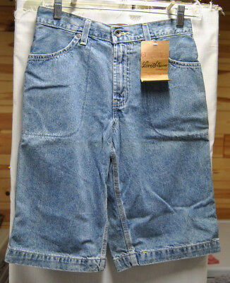 Levi's Boy's Long Denim Shorts Size 14 Regular 100% Cotton NEW WITH TAGS