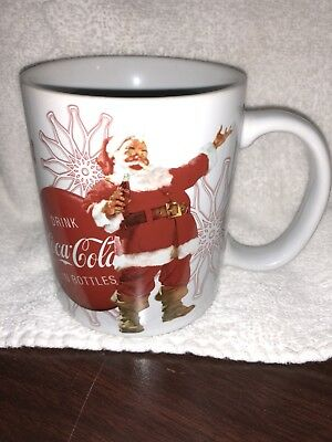 Coca Cola Cup Coffee Mug Happy Holidays Santa Christmas Houston Harvest, Inc.