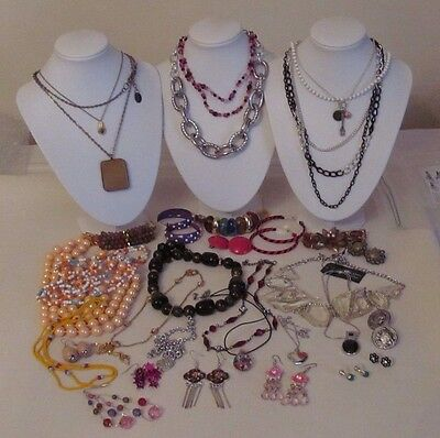 Nice Lot Of Assorted Jewelry/vintage/now/wear/resell Lot# G-24