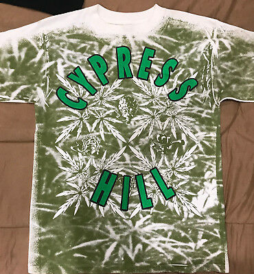 Cypress Hill vintage rap t shirt, White and green, early 90's