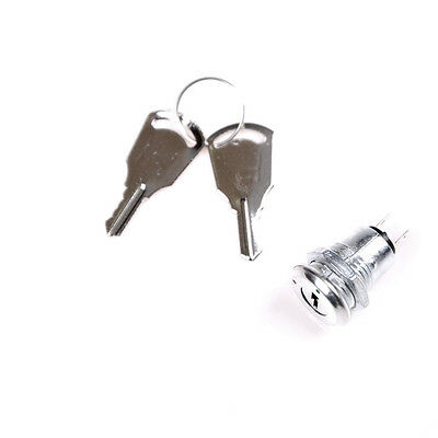 12mm Key Switch ON/OFF Lock Switch KS-02 KS02 Electronic Key Switch with Key LY
