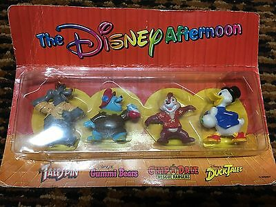 1991 Vintage Kellogg's Cereal The Disney Afternoon Figure Collection (Sealed)