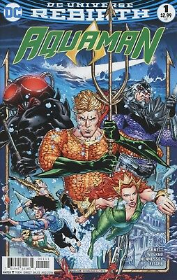 Aquaman #1 Rebirth Dc Comics Near Mint