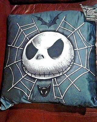 The nightmare before Christmas Jack Skellington square Pillow 12 inch+ RARE