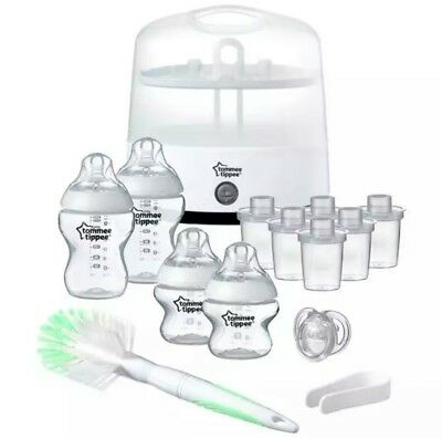 Tommee Tippee Electric Steam Steriliser Set. Brand New In Box