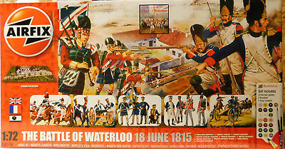 AIRFIX ® 1:72 Battle of Waterloo - Schlacht von Waterloo inkl. Farben Pinsel usw
