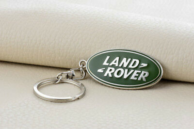 Metal Key Chain Car Logo Keyring Pendant Ring Accessories Keychain Land Rover