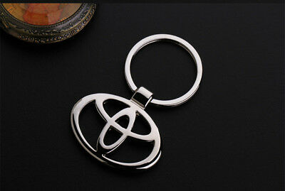 Metal Key Chain Car Logo Keyring Pendant Ring Accessories Keychain Toyota
