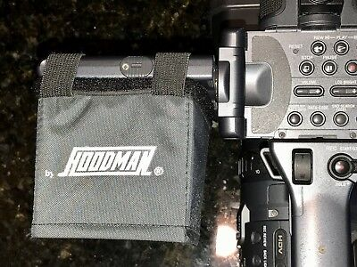 """Hoodman Video LCD Camcorder Hood fits screens up to 3.5"""". Excellent condition!"""
