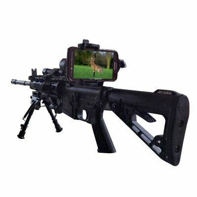 Smartphone iPhone Samsung Mount Spotting Rifle Scope Cell Phone Camera Adapter
