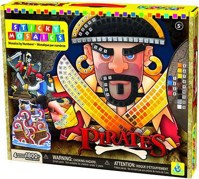 Orb Factory 620892 - Sticky Mosaics Pirates