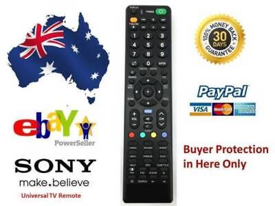 Remote Control For Sony Bravia Lcd Hd Tv Dvd Kdl-55Ex720 Kdl-46W4100 Kdl-52W4100