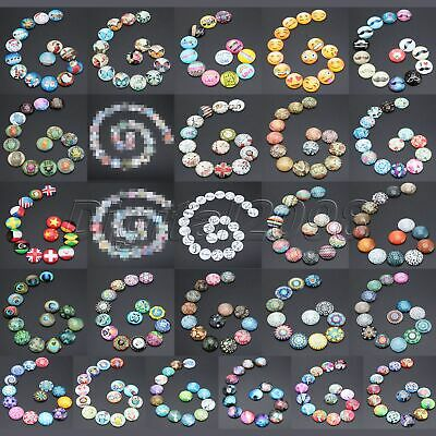 Glass Photo ameo Cabochon Round Glass patch Dome Jewellery & Model Making 25mm