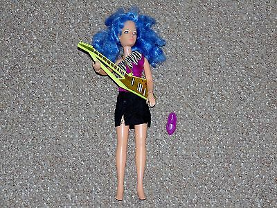 1987 Hasbro Jem & the Holograms Stormer Doll with Some Accessories