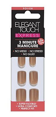 Elegant Touch Express Polished Ongles Pré-encollée Dirty Nude