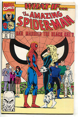What If 21 2nd Series Marvel 1991 FN Black Cat Amazing Spider-Man Annual
