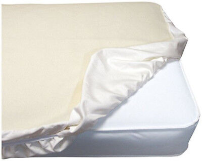 """Pre-owned Naturepedic organic cotton fitted waterproof crib pad 28"""" x 52"""""""