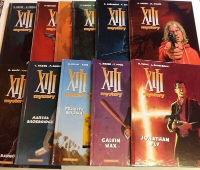 BD XIII MYSTERY tomes 1 à 11 EO Dargaud