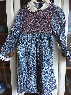 Vintage Child's Clothes, Ladybird Smocked Dress, and Baby Boys Clothes