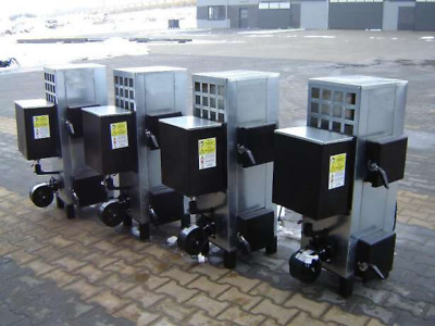 Industrial waste oil  wood burner heater garages offices Combined 20kW