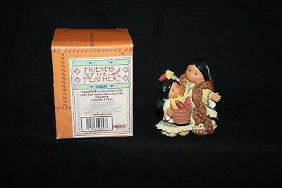 """Friends of the Feather Figurine """"Thankful for Amazing Gifts"""" by Enesco w/Box"""