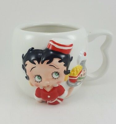 BETTY BOOP Boop Oop A Doop  Coffee Tea Cup Mug 2004 Collectible 1st Edition