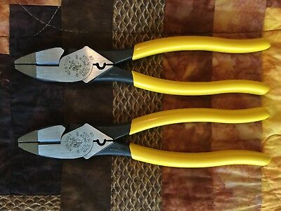 Klein Tools #d213-9Necr Linemans Pliers Made In Usa