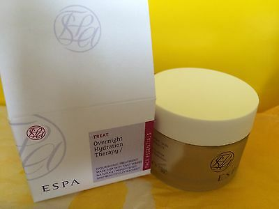 BNIB ESPA Overnight Hydration Therapy facial mask travel size 30ml RRP 55ml £35